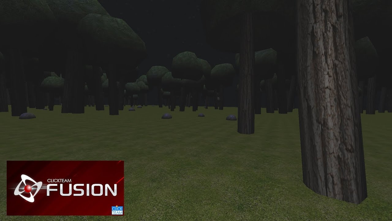 Clickteam Fusion 2 5 (OpenGL) - Procedurally Generated 3D Forest