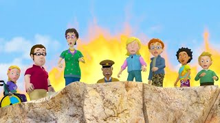 Fireman Sam New Episodes | Fire on the Cliffs - Sam's Mountain Rescues | 🔥 🚒 | Kids Ca