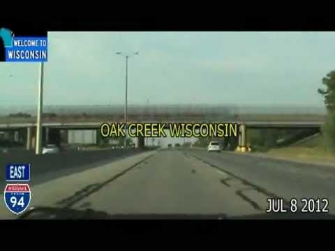 Milwaukee WI to Chicago IL Time Lapse Drive