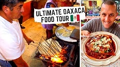 ULTIMATE OAXACAN FOOD TOUR   Street side TLAYUDAS + in the KITCHEN for MOLE   STREET FOOD in MEXICO