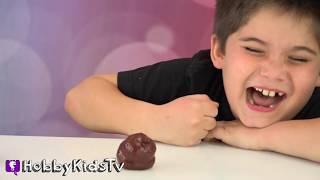 Best POOP Toys Ever! Gross Ugly Monkeys + Singing Toilet, Family Fun by HobbyKidsVids
