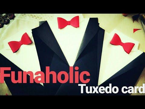 DIY: TUXEDO CARD