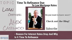 Time To Refinance Due To Lowest Mortgage Interest Rates In 2 Years