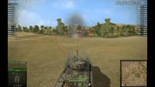 ИС-6 World of Tanks, встреча в рандоме