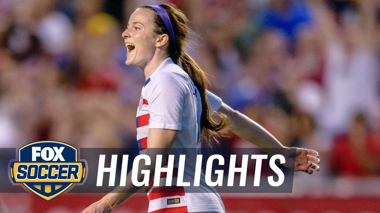 Rose Lavelle scores the opening goal against Canada | 2018 CONCACAF Women's Championship