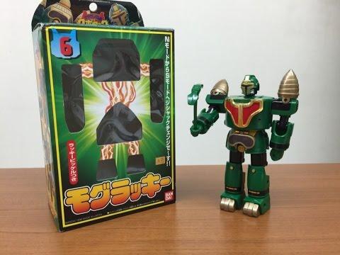 テツワン探偵ロボタック ジシャックチェンジシリーズ6 モグラッキー Tetsuwan Tantei Robotack mogulucky