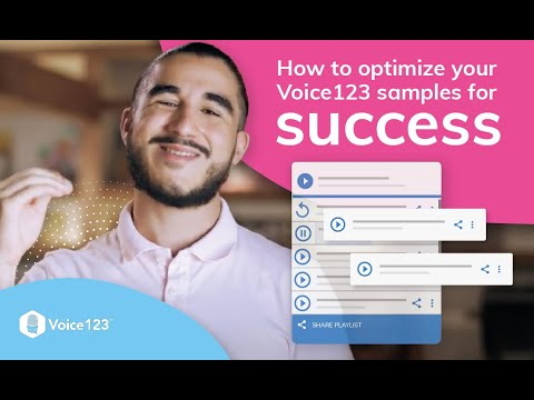 How to optimize your samples for success with Voice123's SEO Engineer Andrés Zuleta