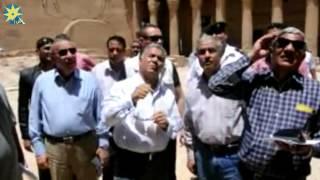 بالفيديو.. وزير الاثار: كشف أثرى جديد غرب النيل بأسوان