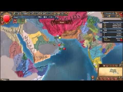 Europa Universalis IV Oman - Ethiopia 1 No Friends for Us