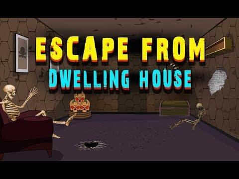 Escape From Dwelling House Walkthrough