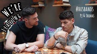 WE'RE LEAVING | VLOG | GAY COUPLE | PJ AND THOMAS