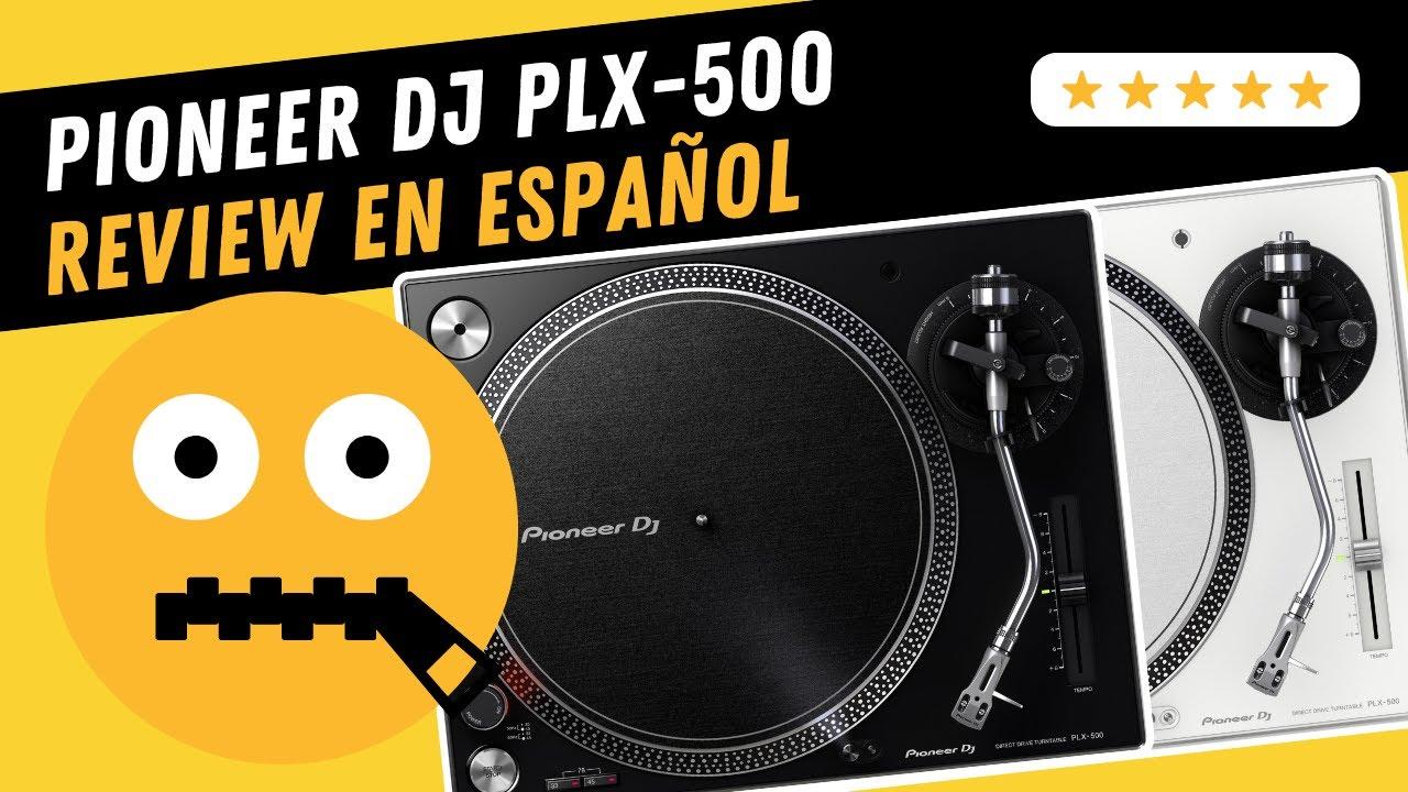 DJ Pioneer PLX-500-K Black