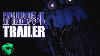 FIVE NIGHTS AT FREDDY'S 4 TRAILER REACTION | iTownGamePlay (FNAF)