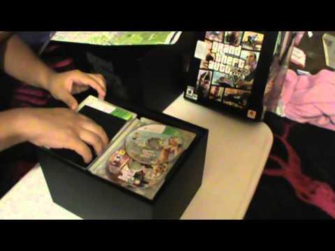 Unboxing Grand Theft Auto V  (Mexico - Español) (Edicion de Coleccionista) TAC