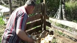 Компост из отработанных грибных блоков (Mushroom compost)