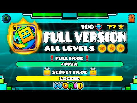 All Geometry Dash World Levels In