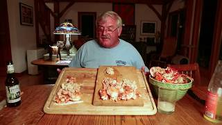Cracking the Soft Shell Lobster with Lobster Fisherman Jeff Peterson
