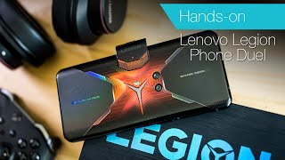 Lenovo Legion Phone Duel unboxing & hands-on game test