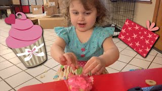 Ayla is three! Happy Birthday!