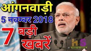 Anganwadi Today Latest News Hindi 2018   Asha Worker Salary Hike  आंगनवाड़ी आशा सहयोगिनी  का वेतनमान