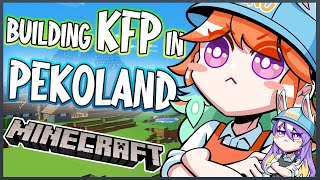 【MINECRAFT JP SERVER】New KFP Branch in Pekoland #kfp #キアライブ