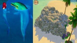 Secret Mermaid House + Nursery !! Island Living Sims 4 Ocean Life Video