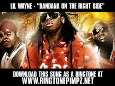 Lil Wayne feat. Nu Jerzey Devil - Bandana on the Right Side [Video + Download]