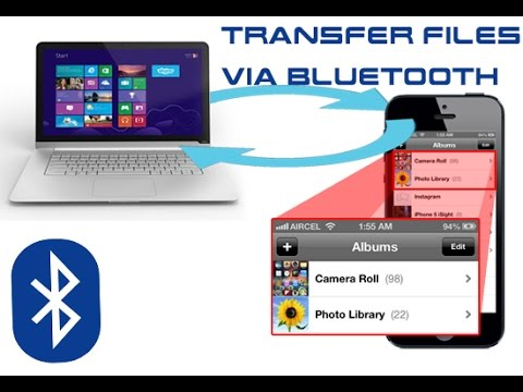 how to easily transfer files from mobile to laptop laptop to