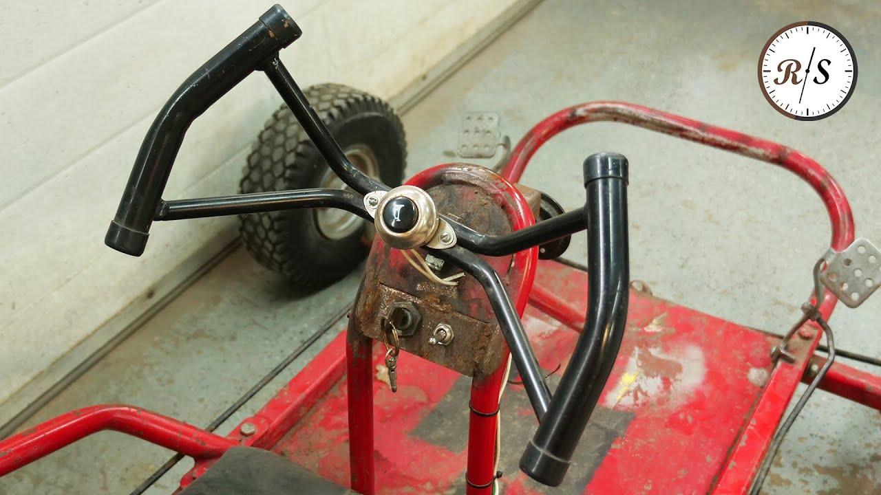 """""""Restoring"""" a Janky Old Go Kart"""