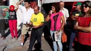 Ato inter-religioso na Vigilia Lula Livre em Curitiba, 247 dias de resistência