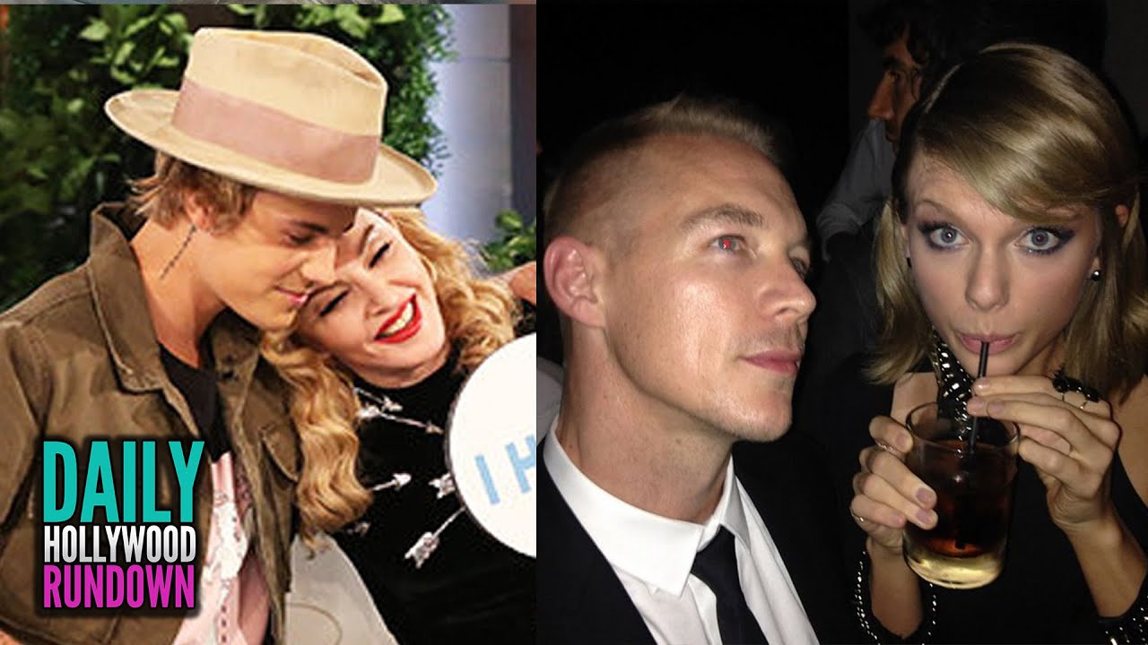 Justin Bieber Plays Sex Game With Madonna - Diplo Disses Taylor Swift ... джастин бибер