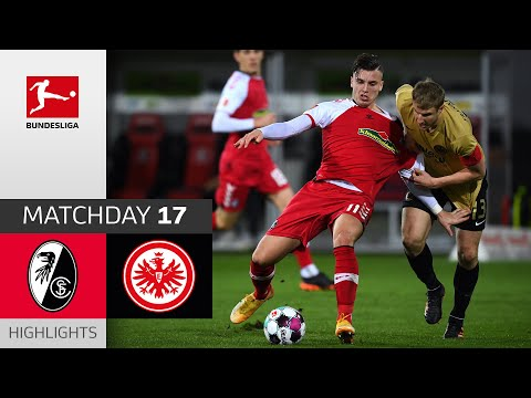 SC Freiburg - Eintracht Frankfurt | 2-2 | Highlights | Match