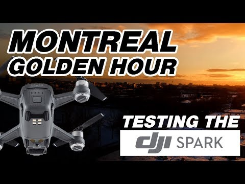 Montreal - Golden Hour (Drone Test 1.5)