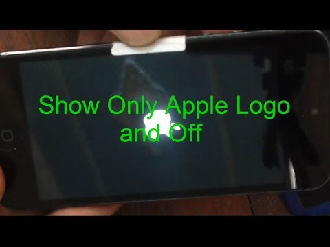 IPhone 5,5s,5c,all iphone  Restart Show only Apple LOGO and Restart again Fix by Restoring