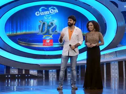D2 Episode 36 Santhosh & Pranav's love story of cards & a 'pani' for Pearle, Sandra's mambo
