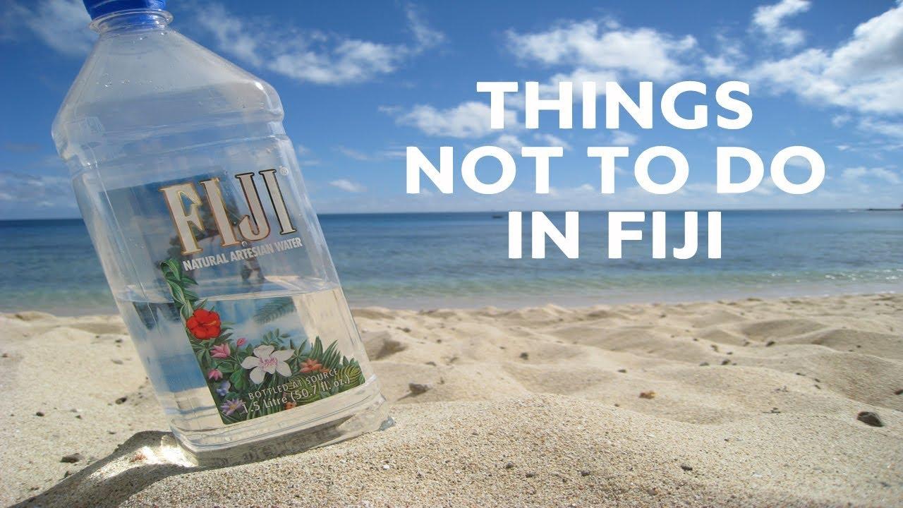 10 Things Not To Do In Fiji