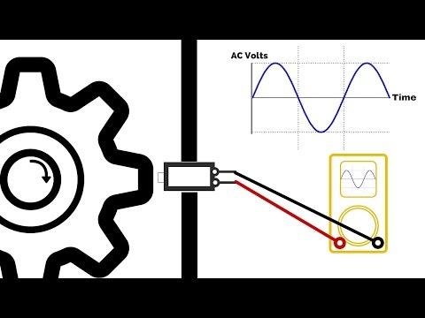 How Engine Sensors Work: Crankshaft, Camshaft, ABS. Magnetic Inductive Sensors.