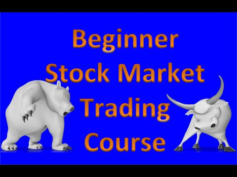 Stock Market Trading for Beginners Course
