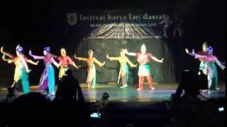 Festival Karya Tari Daerah 2013 KALSEL - BANJARMASIN