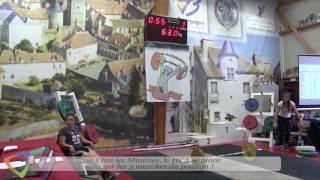 Challenge d'Automne GARÇONS à l'Haltérophilie Club Avallonnais (89)