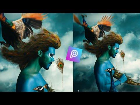 #bluebirdconcept-#vijaymahar-vijay-mahar-blue-bird-concept-photo-editing-tutorial-in-hindi