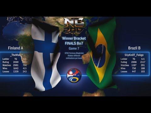 Nations Cup 2017, Winner Bracket FINAL Finland A vs Brazil B