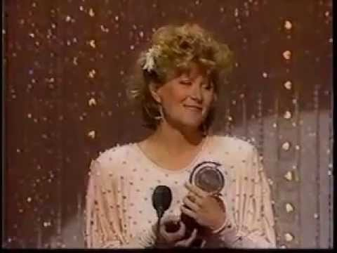 Judith Ivey wins 1985 Tony Award for Best Featured Actress in a Play