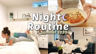 My Night Routine | Summer 2020 | Skincare, Cooking & more.