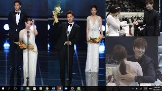 Video Americans Choose Lee Min Ho and Park Shin Hye Most Popular Korean Actor and Actress download MP3, 3GP, MP4, WEBM, AVI, FLV Maret 2018