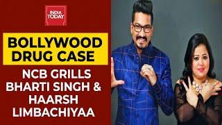 Bollywood Drugs Case: NCB Grills Bharti Singh & Haarsh Limbachiyaa | WATCH Divyesh Singh's Report