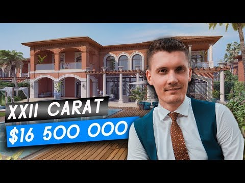 XXII Carat Club Villas in Palm Jumeirah. Luxury Real Estate
