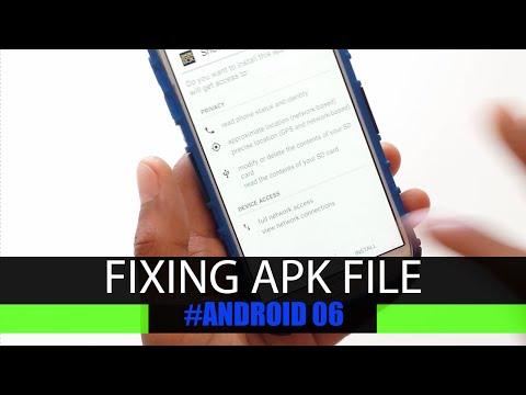 How to fix apk file not installing