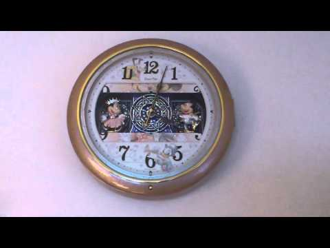 Disney's musical clock