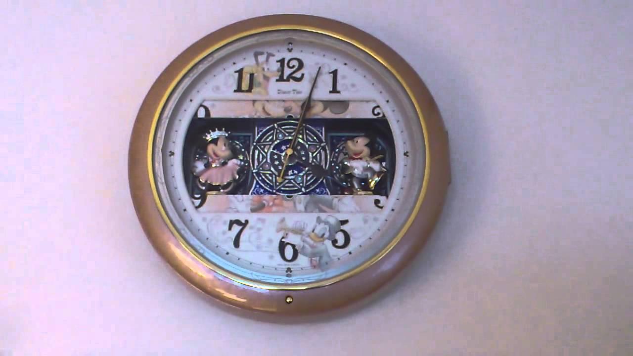 Disneys musical clock youtube disneys musical clock amipublicfo Choice Image